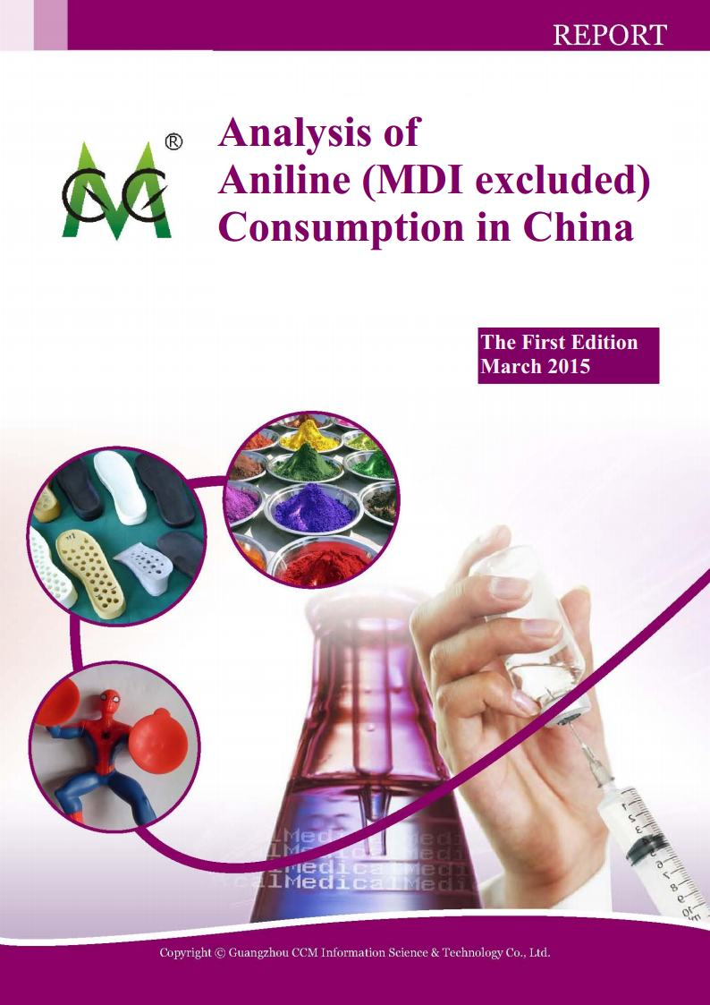 Analysis of Aniline (MDI excluded) Consumption in China