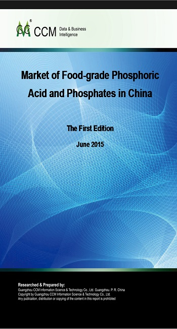 Market of Food-grade Phosphoric Acid and Phosphates in China