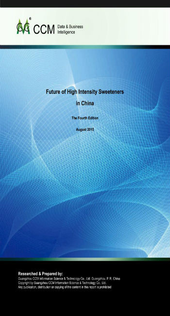 Future of High Intensity Sweeteners in China