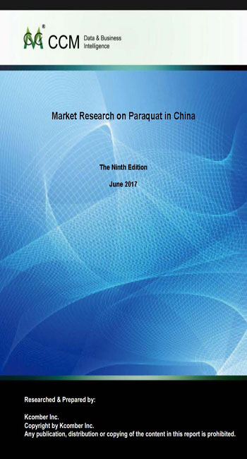Market Research on Paraquat in China