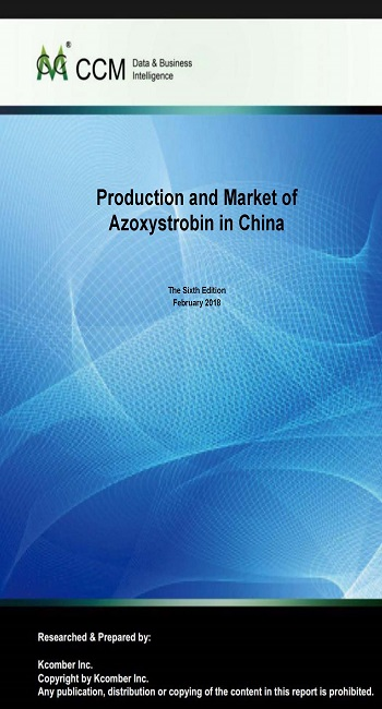 Production and Market of Azoxystrobin in China