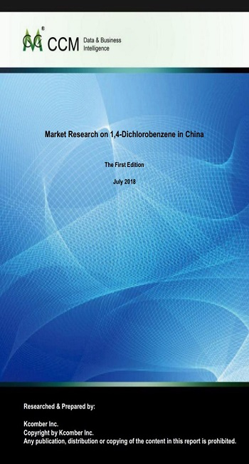Market Research on 1,4-Dichlorobenzene in China