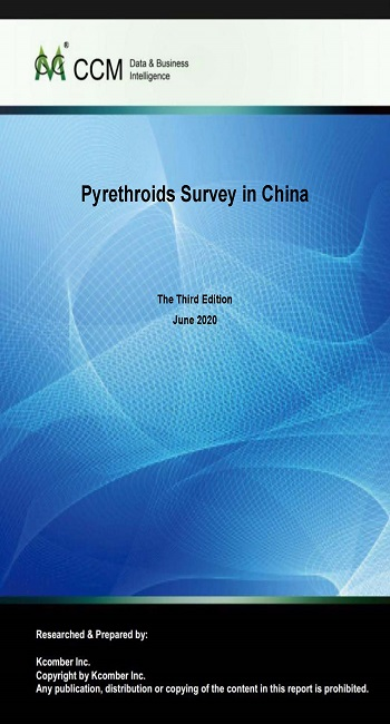 Pyrethroids Survey in China