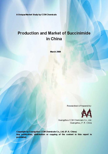 Succinimide Production & Market in China