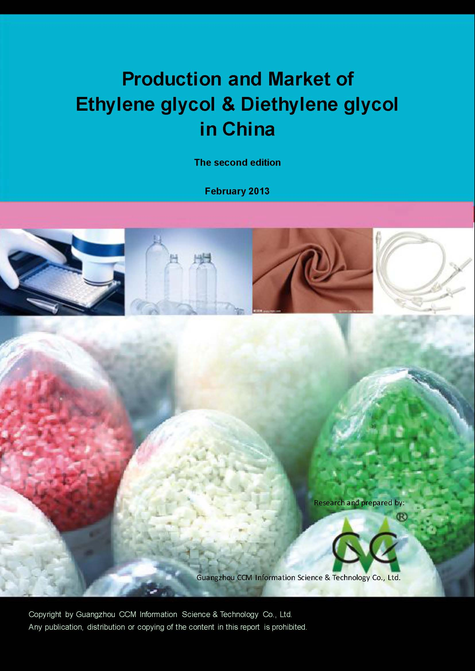 Production and Market of Ethylene Glycol and Diethylene Glycol in China