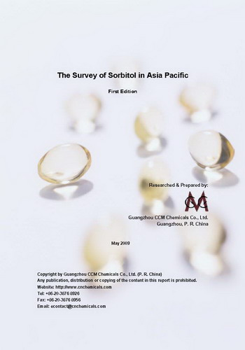 The Survey of Sorbitol in Asia Pacific