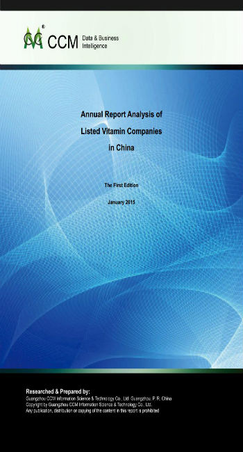 Annual Report Analysis of Listed Vitamin Companies in China