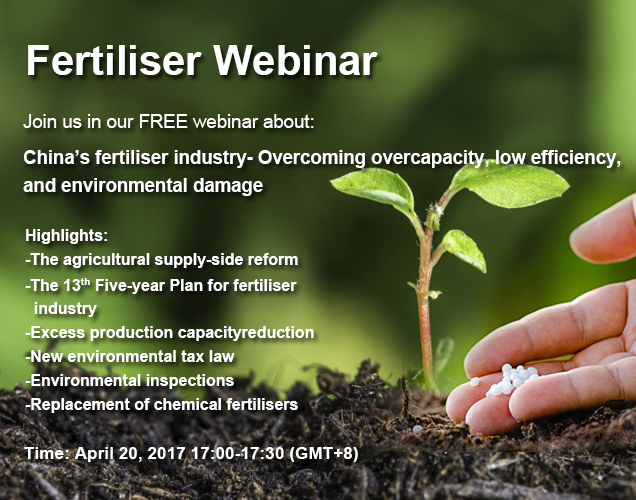 China's Fertiliser Industry - Overcoming overcapacity, low efficieny, and environmental damage