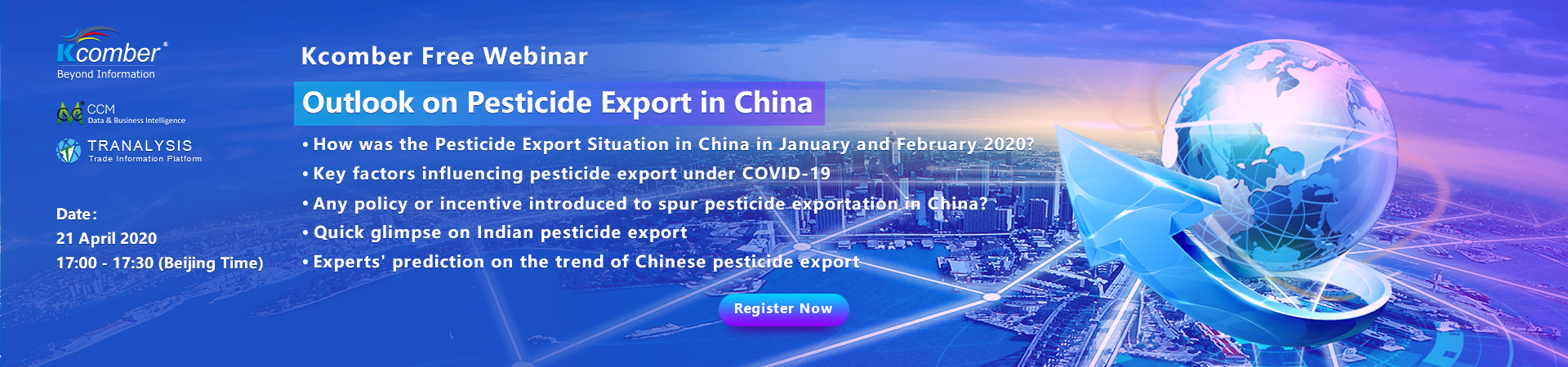 Outlook on Pesticide Export in China