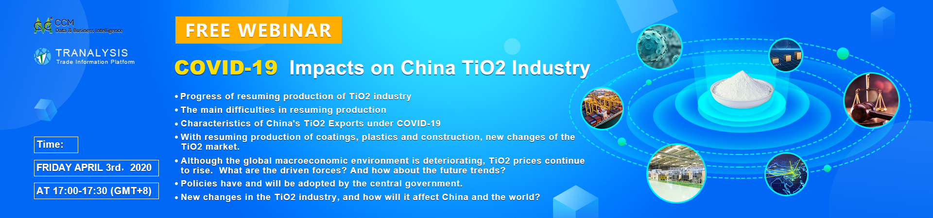 COVID-19  Impacts on China TiO2 Industry