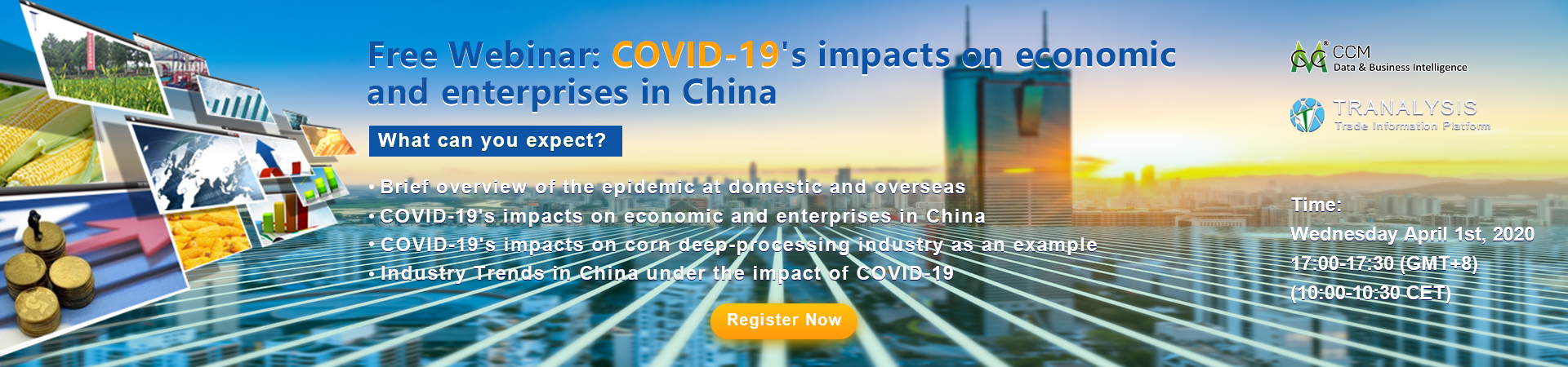 COVID-19's impacts on economic and enterprises in China