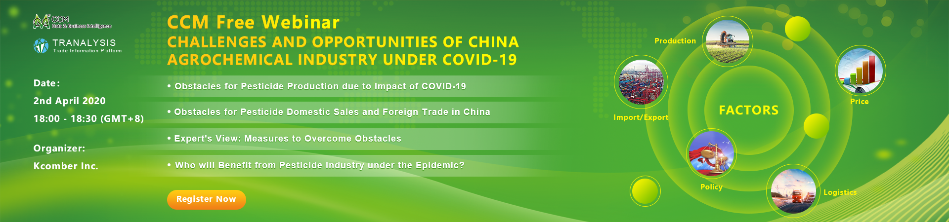CHALLENGES AND OPPORTUNITIES OF CHINA AGROCHEMICAL INDUSTRY UNDER COVID-19