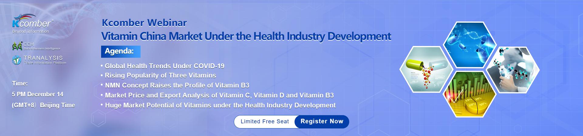 Vitamin China Market Under Current Health Industry Development