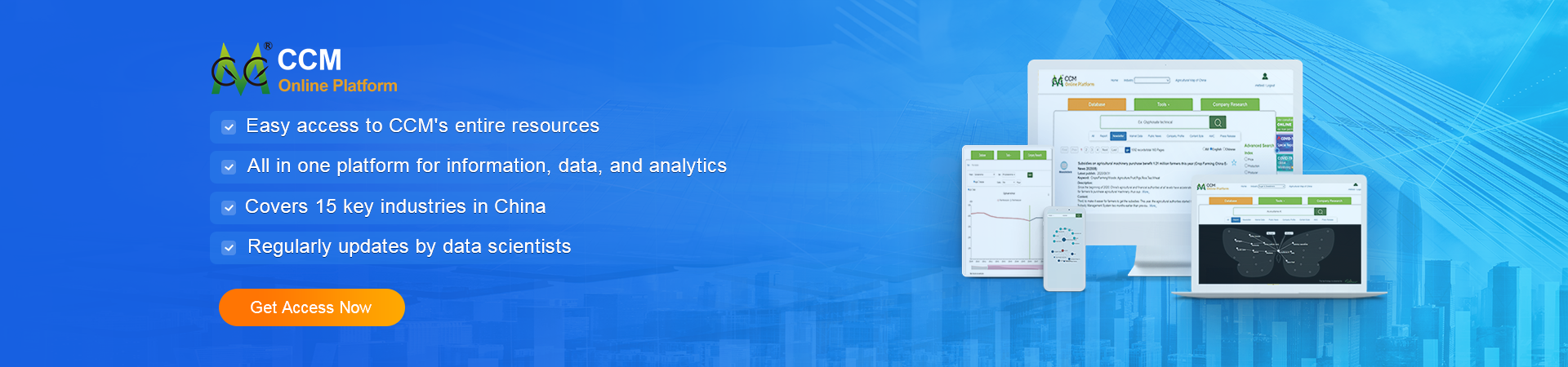 China Market Research database - An online Data Portal