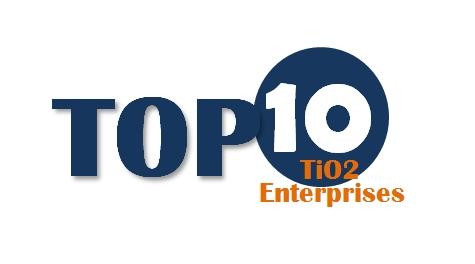 CCM: China 2015 Top 10 TiO2 Enterprises