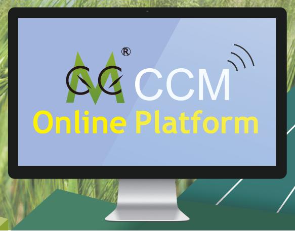 CCM Online Platform Overview