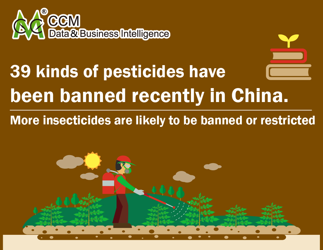 New announcement released, more insecticides are likely to be banned or be restricted in China