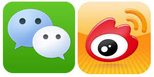 Using Weibo and WeChat for news feed in China's business environment