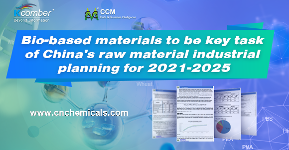 Bio-based materials to be key task of China's raw material industrial planning for 2021-2025